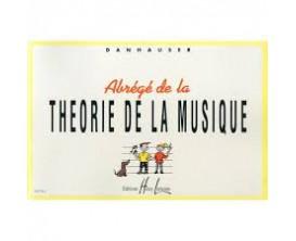 LIBRAIRIE - Abrégé de la Théorie de la Musique - Danhauser - Editions Lemoine