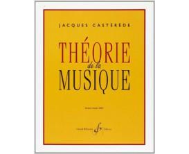 LIBRAIRIE - Théorie de la musique - Jacques Castérède - Ed. Billaudot