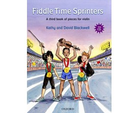 LIBRAIRIE - Fiddle Time Sprinters - Violin book 3 (avec CD) - K. & D. Blackwell - Ed. Oxford