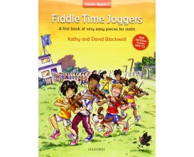 LIBRAIRIE - Fiddle Time Joggers - Violin book 1 (avec CD) - K. & D. Blackwell - Ed. Oxford