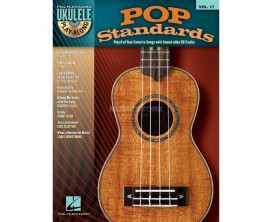 Pop Standards Ukulélé - Vol 17 - Hal Léonard. CD.