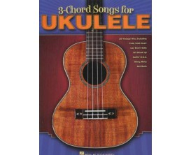 3 Chord Songs For Ukulele - Hal Leonard