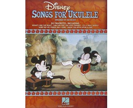 Disney Songs for Ukulele (Arranged by Jim Beloff) - Hal Leonard