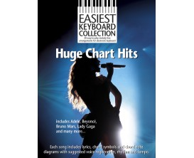 Huge Chart Hits - Easy Keyboard Collecion - Wise Publications