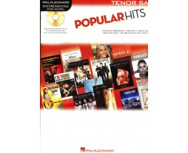 LIBRAIRIE - Popular Hits, pour Sax Tenor, avec CD - Ed. Hal Leonard