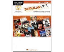 LIBRAIRIE - Popular Hits, pour Sax Alto, avec CD - Ed. Hal Leonard