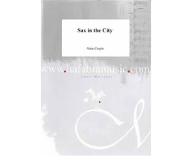 LIBRAIRIE - Sax in the City (for Saxophone and Piano) - Alain Crepin - Hafabramusic