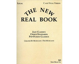 The New Real Book - Jazz Classics Choice Standards Po-Fusion Classics - C and Vocal Version - Sher Music Co.