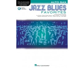 Jazz Blues Favorites for Alto Sax - Hal Leonard