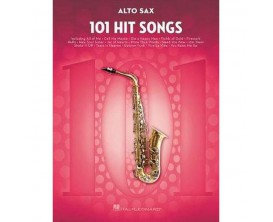 101 Hit Songs Alto Sax - Hal Leonard