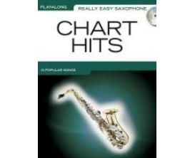 Play Along Really Easy Saxophone Chart Hits (Avec CD) - Wise Publications