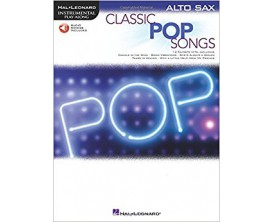 Classic Pop Songs (Alto Sax) - Hal Leonard