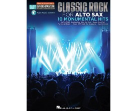 Classic Rock for Alto Sax - 10 Monumental Hits (Audio Access Included) - Hal Leonard