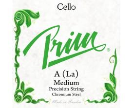 PRIM Corde violoncelle A med verte