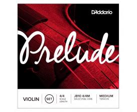 D'ADDARIO J810-4-4M Jeu de Cordes Violon 4/4 Série Prélude - Tension Moyenne