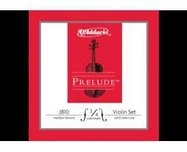 D'ADDARIO J810-3-4M Jeu de Cordes Violon 3/4 Série Prélude - Tension Moyenne