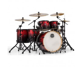 "MAPEX AR628FBNV Armory - Kit batterie 5 Fûts GC22"", sans HW ni cymbale - Magma Red"