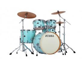 "TAMA VP52KRS-LBL - Silverstar Custom, Batterie 5 fûts GC22"", sans cymbale ni hw, Light Blue Lacquer"