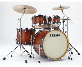 "TAMA VP52KRS-ABR - Silverstar Custom, Batterie 5 fûts GC22"", sans cymbale ni hw, Antique Brown Burst"