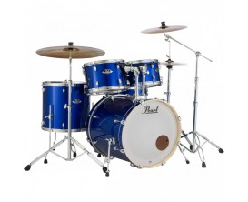 PEARL EXX725SBR/C717 - Export Drum Kit 5 pces avec Hardware et cymbales Sabian SBR - High Voltage Blue