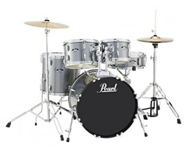 "PEARL RS525/C706 - Kit Roadshow 5 Fûts, GC 22"", avec Hardware , tabouret et cymbales (HH 14"" +Ride 16""), Charcoal Metallic"