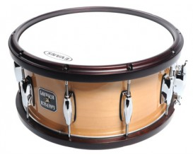 """GRETSCH 5550125712 - S-6514MWH-SWN 14"""" x 6.5"""" • Snare Drum • 100% Maple Shell • 10-Lug • Gloss Natural • Walnut Hoops"""
