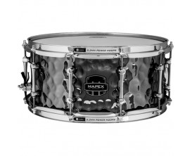 "MAPEX AR465HCEB - Armory Snare, Daisycutter Hammered Steel, 14""x6,5"""