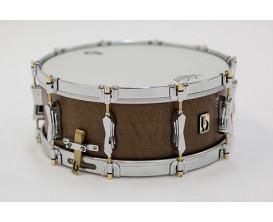 """British Drum co. TD-1455-SN - Caisse claire The Duke Lounge 14 x 5,5"""", fût en chêne des marais, 6 mm, 10 plis, édition limitée"""