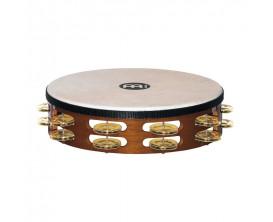 MEINL TAH2B-AB Tambourin à main avec 8 paires de cymbalettes rondes