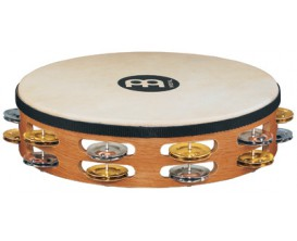 """MEINL TAH2M-SNT- Tambourin 10"""" double rangée cymbalettes"""