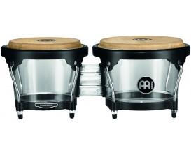 """MEINL HB50A - Bongo 6 1/2""""+ 7 1/2"""" - Acrylique Transparent"""