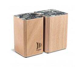 SCHLAGWERK WBS200 Wooden Bongos Velcro