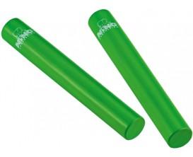 NINO 576GR Paire de shakers Rattle Sticks - Vert