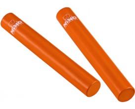 NINO 576OR Paire de shakers Rattle Sticks - Orange
