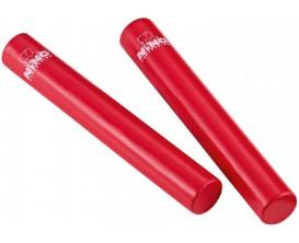 NINO 576R Paire de shakers Rattle Sticks - Rouge