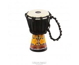 MEINL HDJ7-XXS - African Djembe XXS Black, Gecko Design