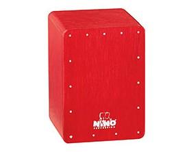 NINO 955R - Shaker Mini Cajon Rouge