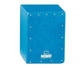 NINO 955B - Shaker Mini Cajon Bleu