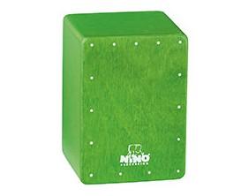 NINO 955GR - Shaker Mini Cajon Vert