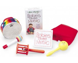"""REMO LK-1100-B1 Ensemble de percussions pour enfants """"Babies make music"""" (Dès 2 ans)"""