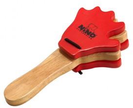 NINO 585 Paire de castagnettes en bois