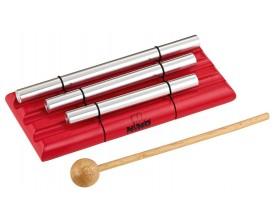 NINO 580-R Energy Chime 3 rangées avec maillet, rouge