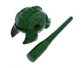 NINO 513GR - Guiro grenouille bois verte, Small