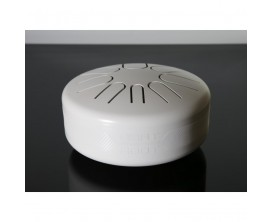 BEAT ROOT MULTIAW - Tongue drum électro multi-gamme, avec mailloches, All White