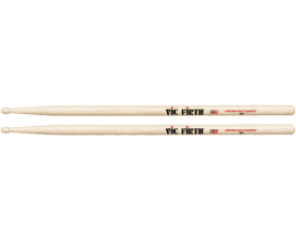 VIC FIRTH 5A - Paire de baguettes 5A, American Classic Hickory