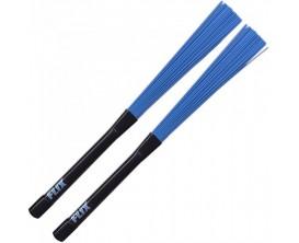 FLIX Rock Brushes - Paire de balais Rock, Bleu