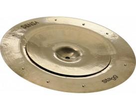 "STAGG SEN-STA1016 ZZ - Ensemble de cymbales SENSA Brilliant - Stack (10"" + 16"" sizzle)"