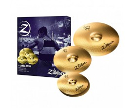 "ZILDJIAN Planet Z4 Pack - Pack cymbales composé de HH 14"", Crash 16"" et Ride 20"""