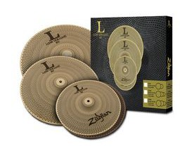 "ZILDJIAN Pack de cymbales Low Volume Serie 468 (14"" Hats, 16"" Crash, 18"" Crash/Ride)"
