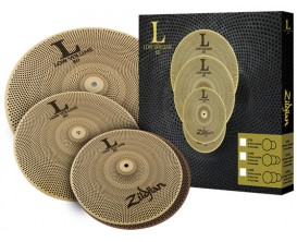 "ZILDJIAN Pack de cymbales Low Volume Serie 348 (13"" Hats, 14"" Crash, 18"" Crash/Ride)"